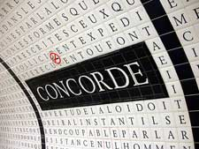 Photography of the Concorde Metro Station